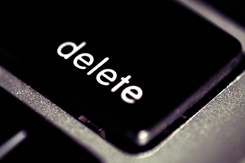 DELETE Distractions